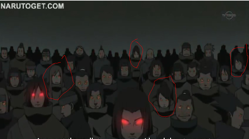 Women are in the Uchiha Clan  Uchiha Clan Members