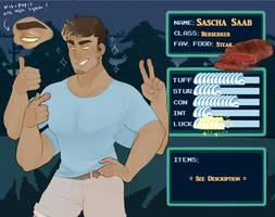 [IV] Sascha Saab by hellebee