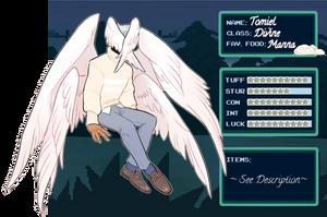 [IV] Tomiel by hellebee