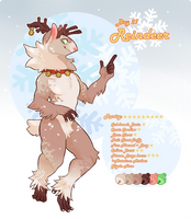 [Auction] TYTONINX ADVENT DAY 21: Reindeer (CLOSED by hellebee