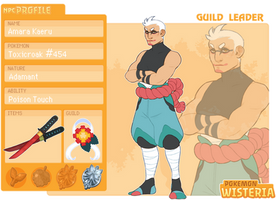 [PKMNW] Amara Kaeru - Guild Leader NPC by hellebee