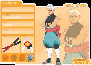 [PKMNW] Amara Kaeru - Guild Leader NPC