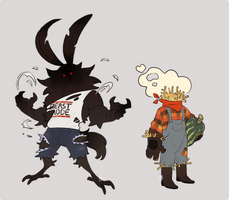 [Adopts] fashionably late spooky boys (SOLD)