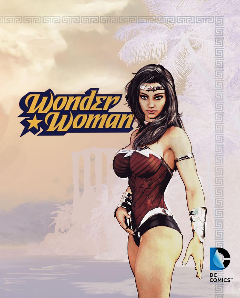 Wonder-Woman-Cover by SamKablamm