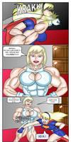 Galatea vs Supergirl p3