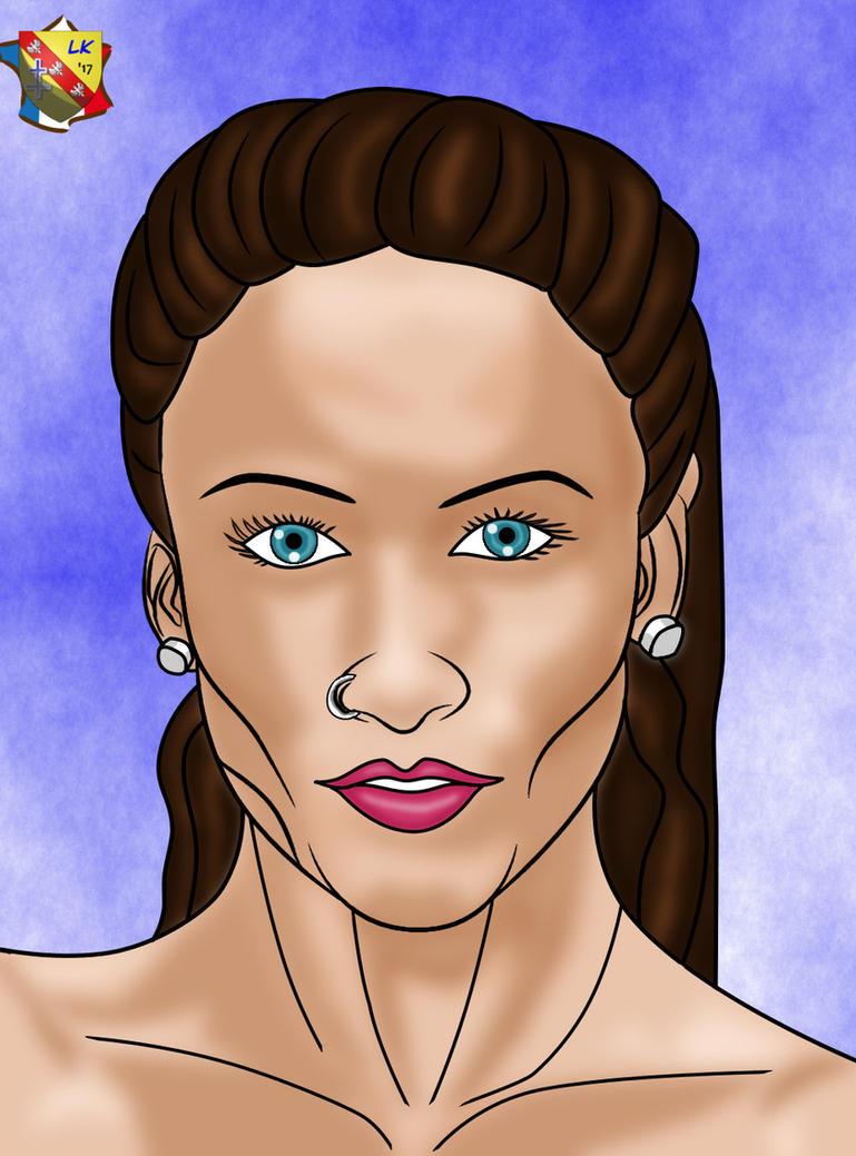 Portrait of Lauren by LordKelvin