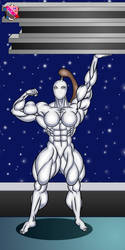 Female android by LordKelvin