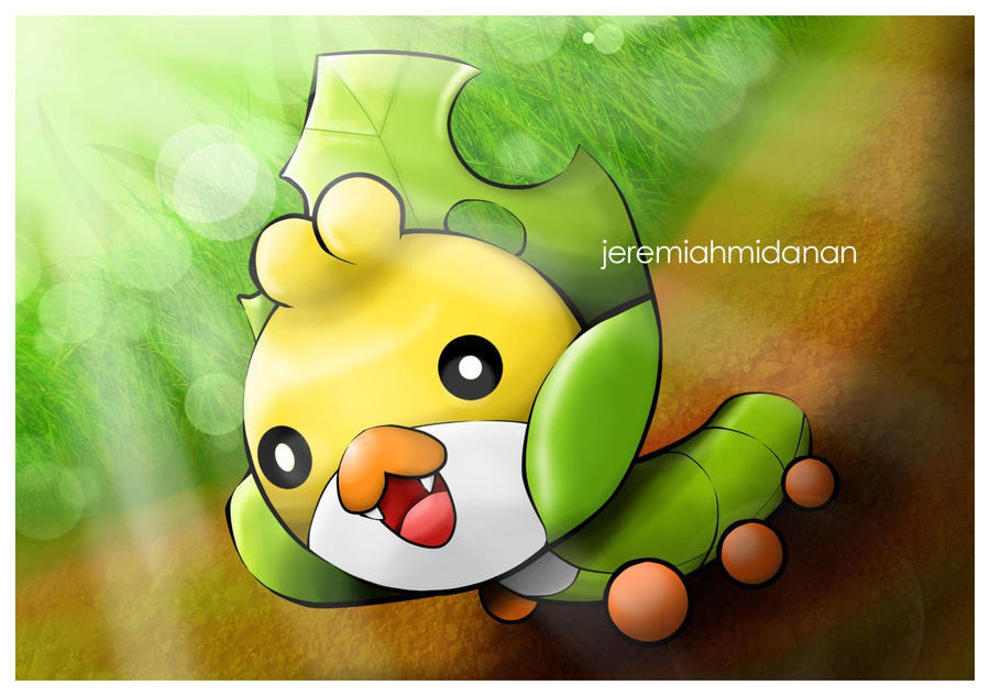 sewaddle pokemon coloring pages - photo#37