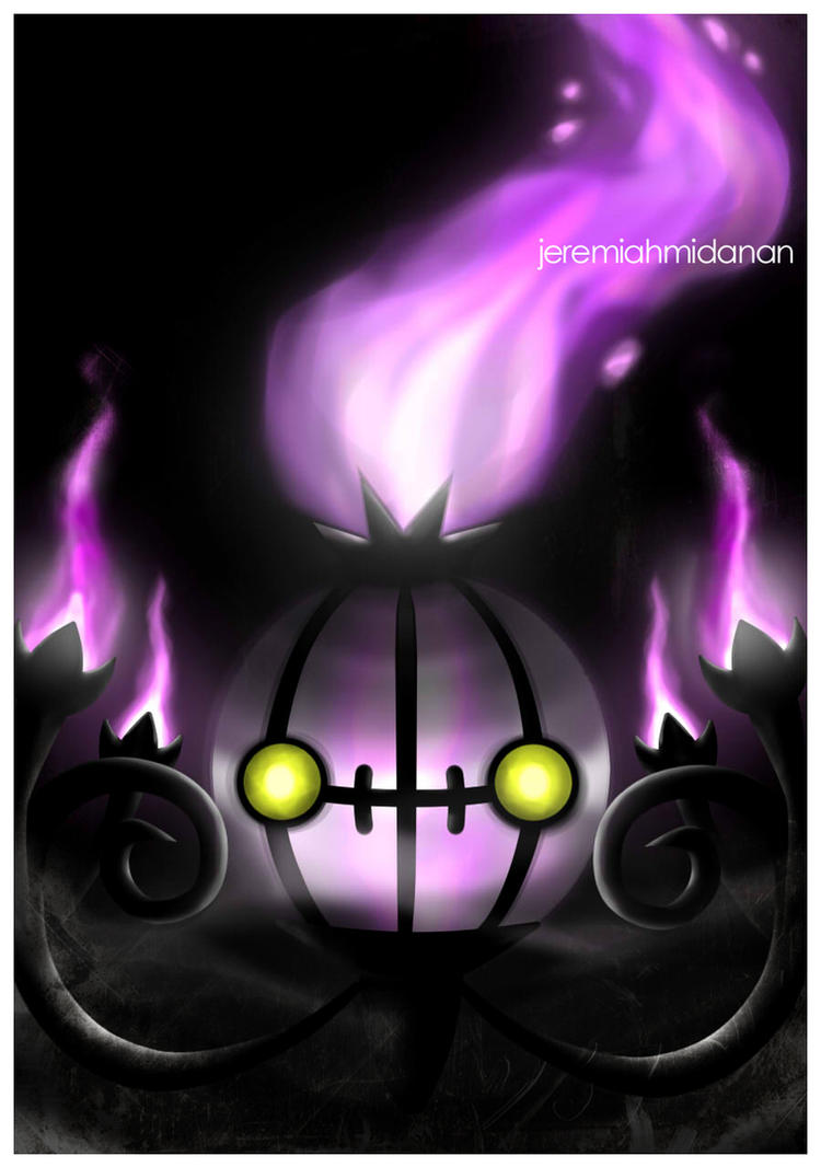 Pokemon : Chandelure by MayaIdanan
