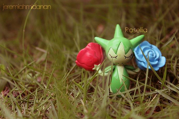 Poke-Shoot : Roselia by MayaIdanan