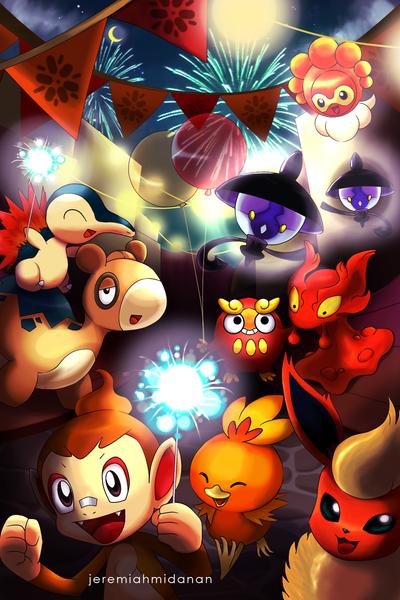 Pokemon : Fire Festival by MayaIdanan