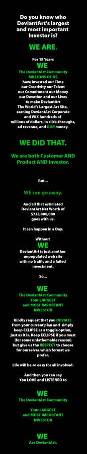 WE Are DeviantArt!