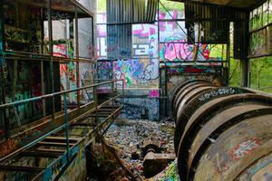 Abandoned Factory 4 by landkeks-stock