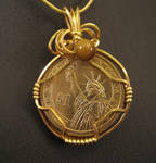 Madison - Wire Wrapped US President Dollar