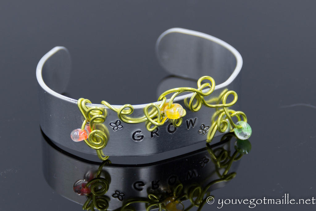 Grow Wire Wrapped Bracelet by youvegotmaille