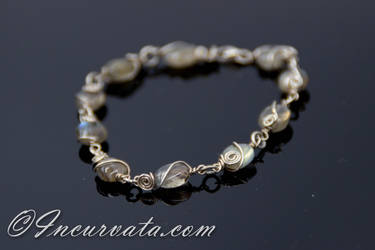 Electra Labradorite Beaded Bracelet by youvegotmaille