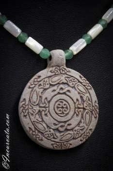Stone Celtic Pendant