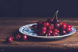 Cherries by BronKatzke