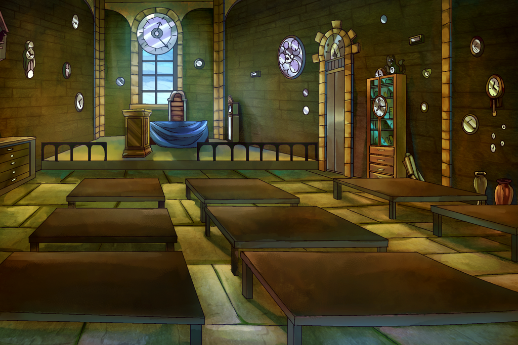 Chronomancy Classroom by viralremix