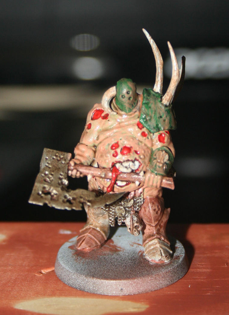 Chaos Lord of Nurgle by RichardCowen