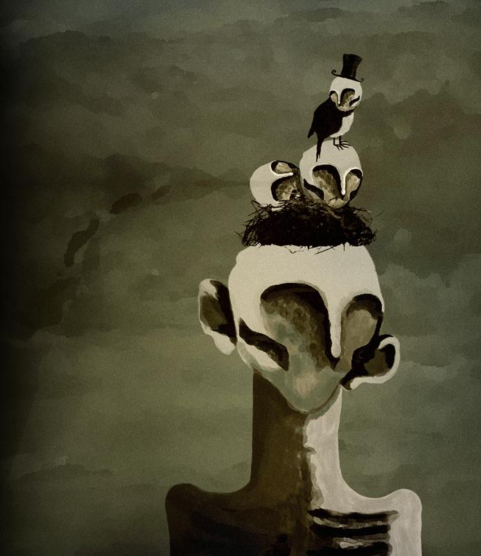 Bird of Sorrow. by iigmiir