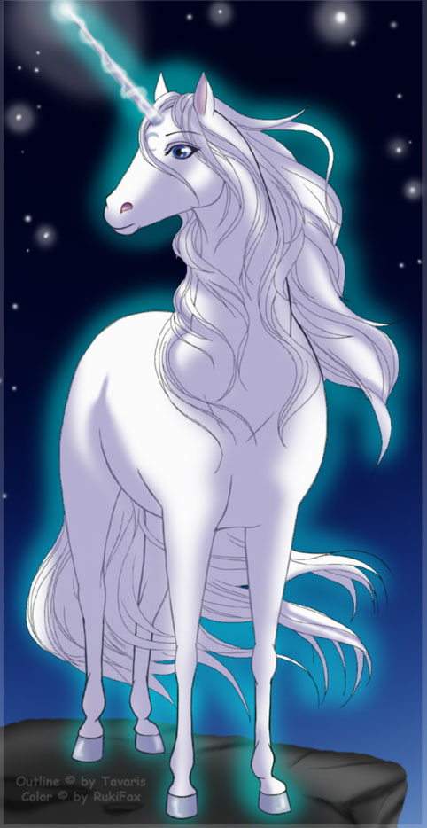 Unicorn Color by *RukiFox on deviantART