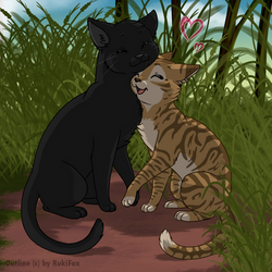 crowfeather and Leafpool