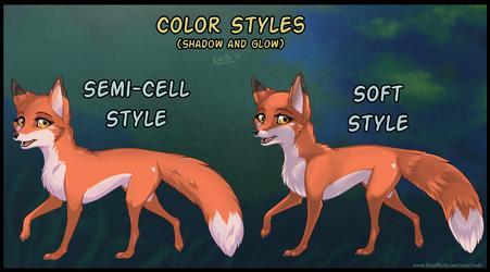 Color Styles - comparison