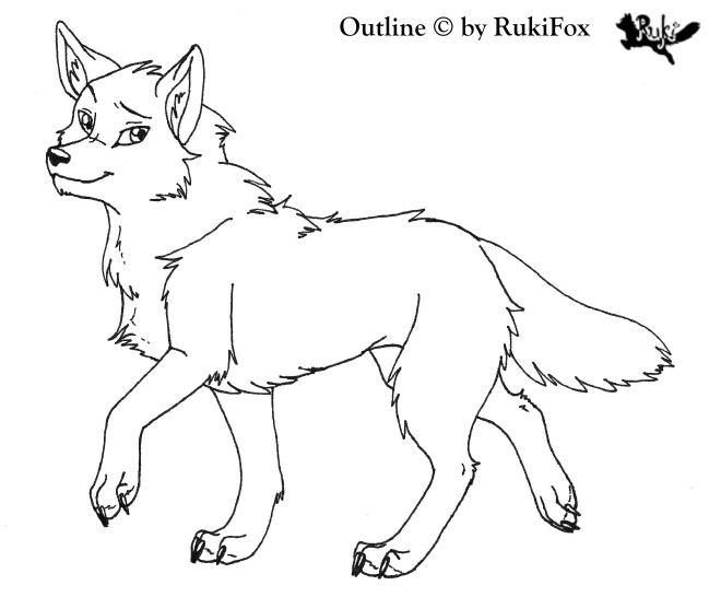 Outline Of Wolves | Search Results | Calendar 2015