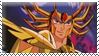 Death mask stamp by KisaraAkiRyu