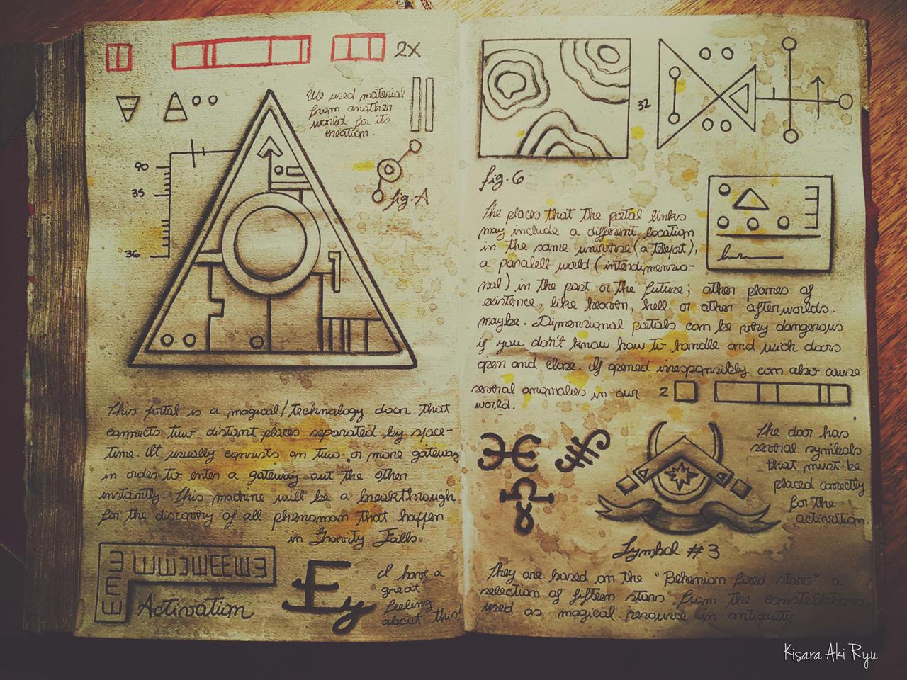 Portal Pages 1 Journal 3 Gravity Falls By Kisaraakiryu On Deviantart