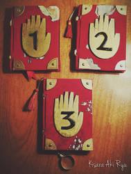 The three Journals - Gravity Falls