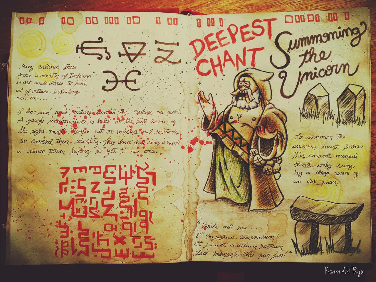 Deepest Chant - Journal 1 Gravity Falls