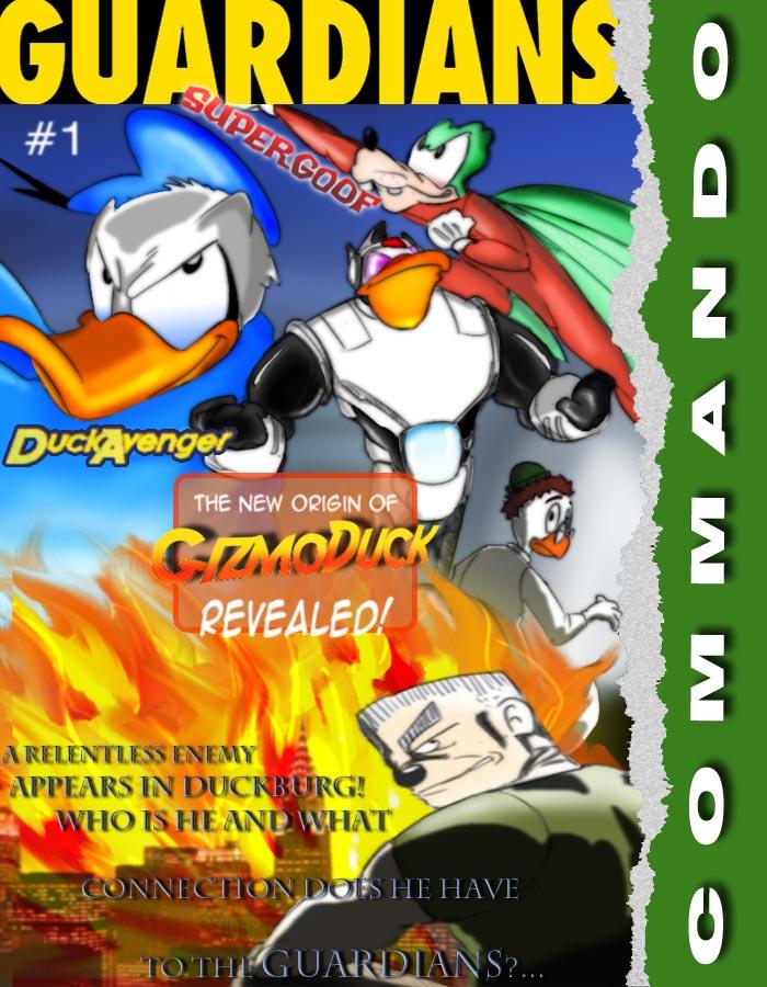 'GUARDIANS' - my webcomic starring Duck Avenger/PK 706876118e387f7bb57521d0f37f956d-d5egbsy