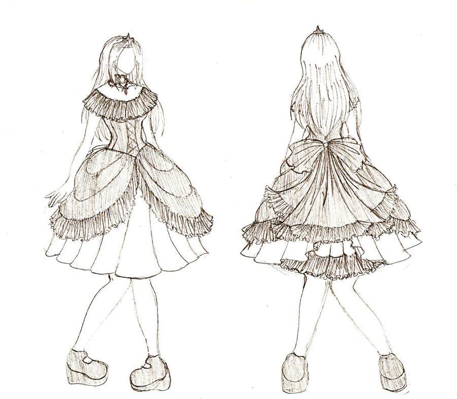 Kamen: Hime Loli Designs: 02 by Kim-Ai1