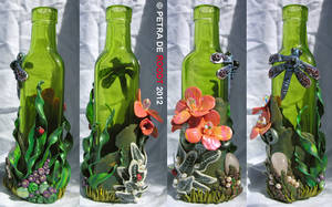 Coloured Bottle Series - Green