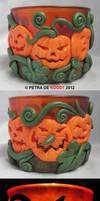 Pumpkin Tea Light Holder 2