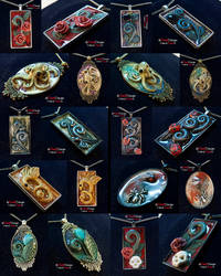 Metal Pendants Batch 2