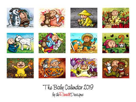The Baby Calendar 2019