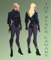 JUSTICE LEAGUE: CRISIS ON TWO EARTHS: BLACK CANARY