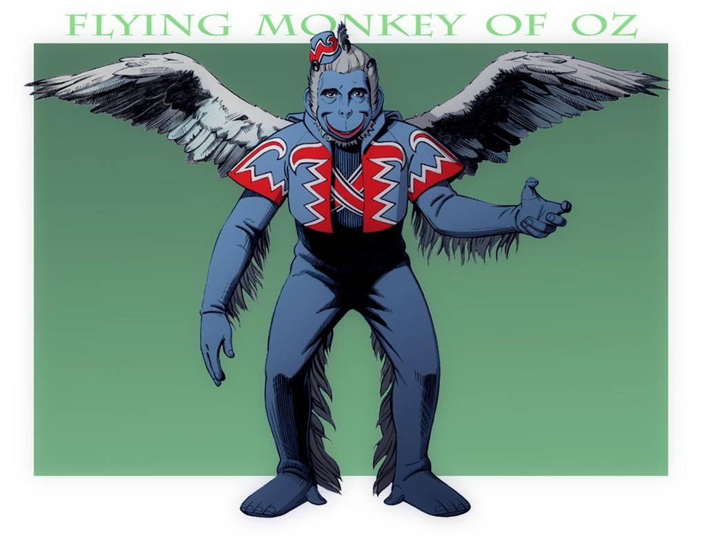 3c6f9ca6b THE WIZARD OF OZ: Flying Monkey Mugshot by Jerome-K-Moore on DeviantArt