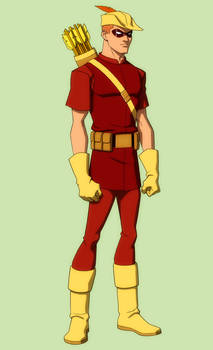 YOUNG JUSTICE: SPEEDY 'crf'