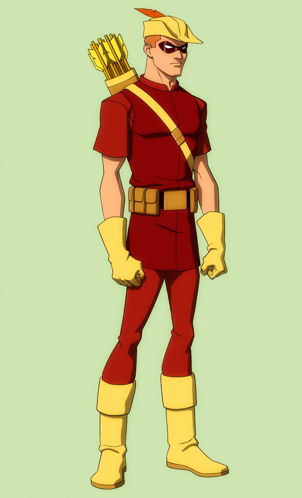 YOUNG JUSTICE  SPEEDY  quot crf quot  by Jerome-K-MooreYoung Justice Speedy