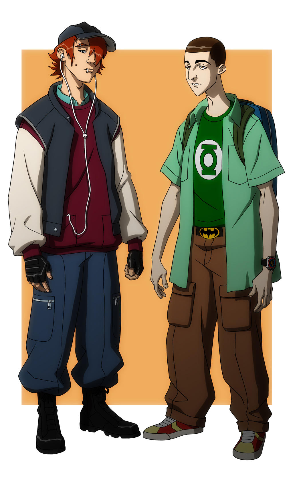 Character Design Young Justice : Young justice schoolkidz by jerome k moore on deviantart
