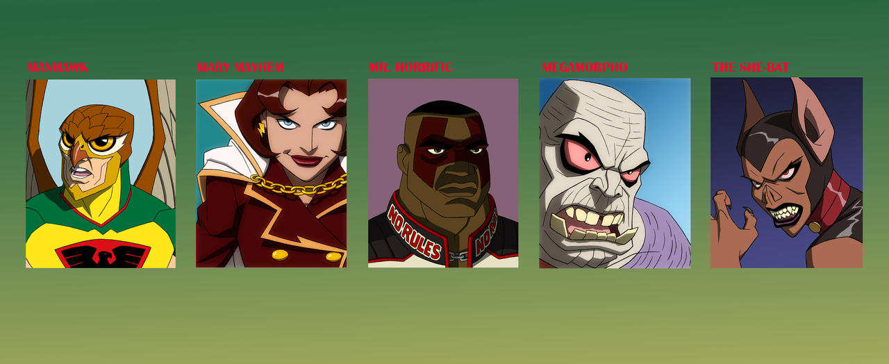EARTH 2 CRIME SYNDICATE by Jerome-K-Moore