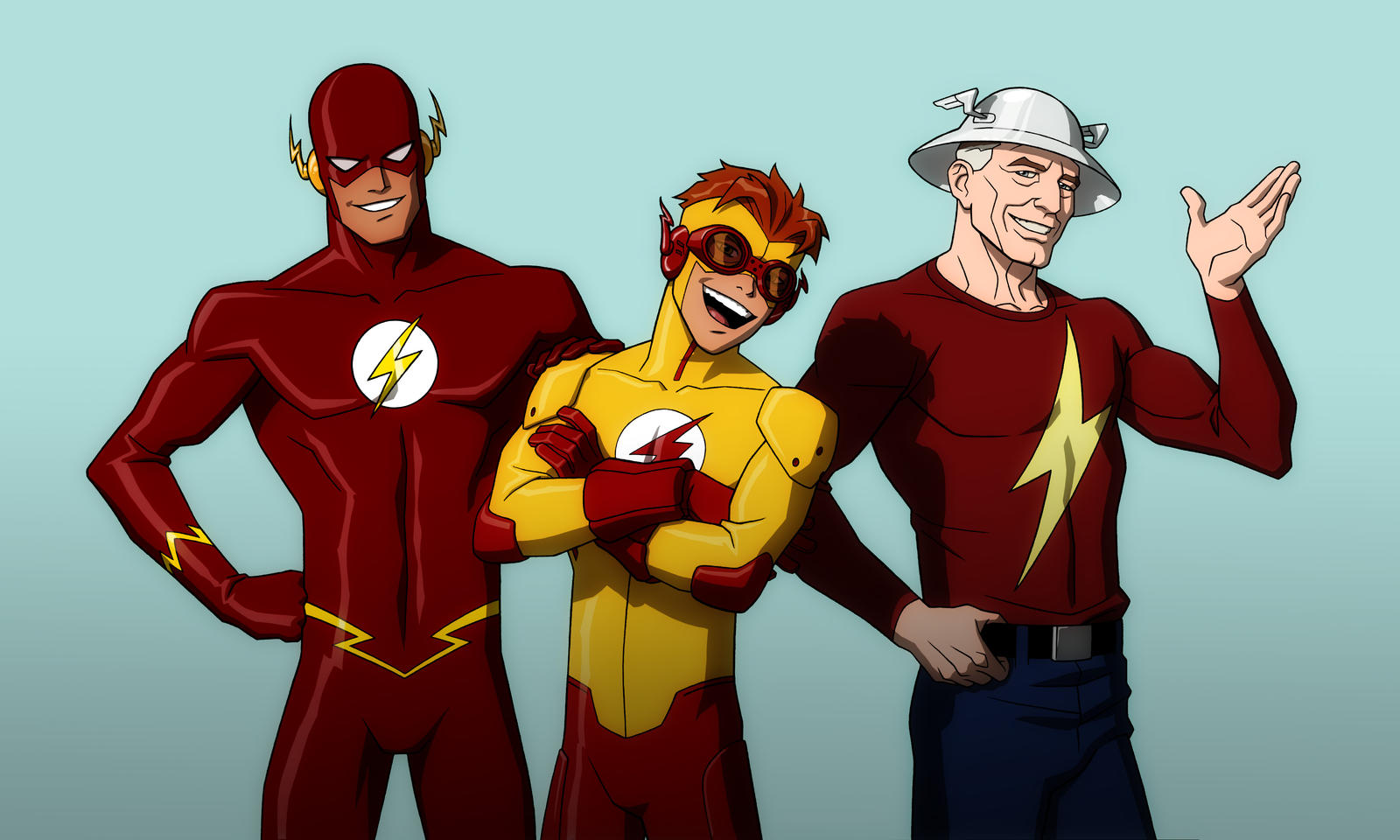 YOUNG JUSTICE: FLASH FAMILY by Jerome-K-Moore