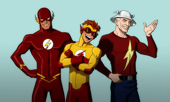YOUNG JUSTICE: FLASH FAMILY