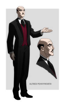 YOUNG JUSTICE: ALFRED PENNYWORTH