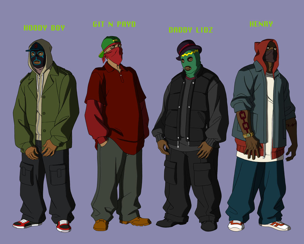 YOUNG JUSTICE THUGZ by Young Justice Flash Family