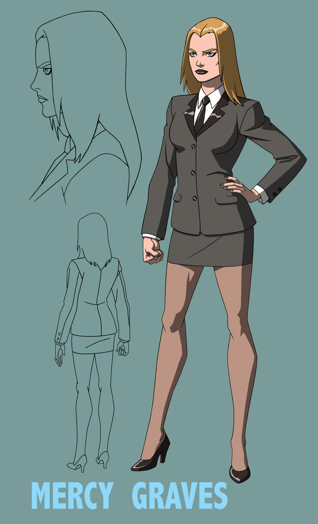 YOUNG JUSTICE: MERCY GRAVES